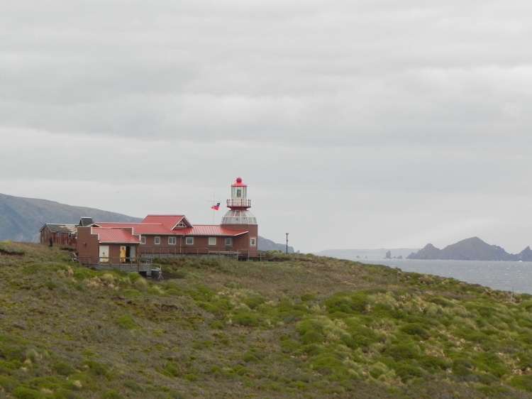 The light house at Cape Horn
