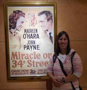 One of Kerri's favourite movies is Miracle on 34th Street