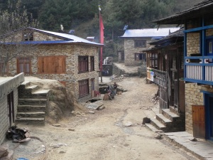 The Main Street of Khamding