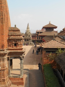 The main Durbar Square of Bhaktapur