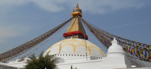 The Boudhanath Stupa. My favorite place in Kathmandu.