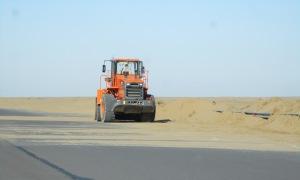Sand plow